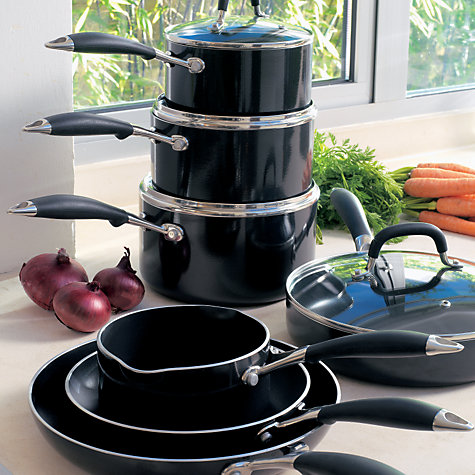Buy John Lewis 'The Pan' Sauté Pan and Lid, 30cm Online at johnlewis.com