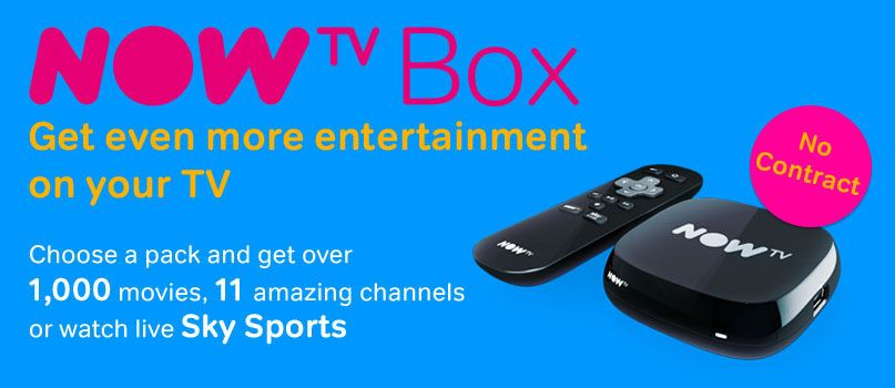 Now TV Box - Get even more entertainment from your TV