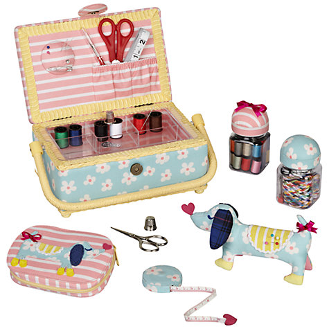 Buy John Lewis Sausage Dog Sewing and Knitting Range Online at johnlewis.com