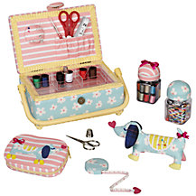 John Lewis Sausage Dog Sewing and Knitting Range