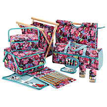 John Lewis Festive Floral Sewing and Knitting Range