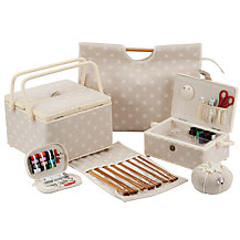 John Lewis Spot Sewing and Knitting Range