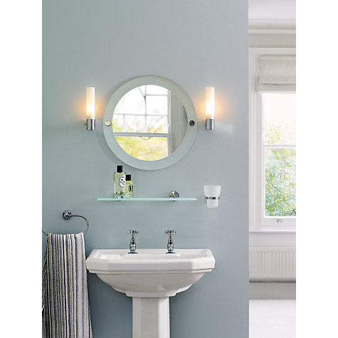 Wall Lights For Shower Room : Buy ASTRO Bari Bathroom Wall Light John Lewis