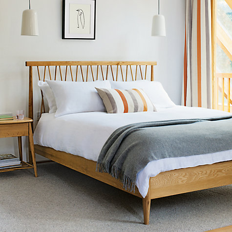 Buy ercol for John Lewis Chiltern Bedstead, Oak, Kingsize Online at johnlewis.com