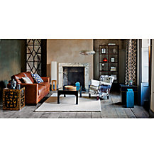 John Lewis Hudson Leather Sofas