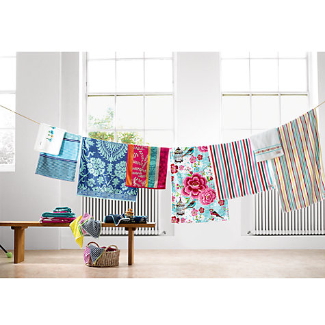 Buy Cath Kidston Bon Bon Stripe Towels, Multi Online at johnlewis.com