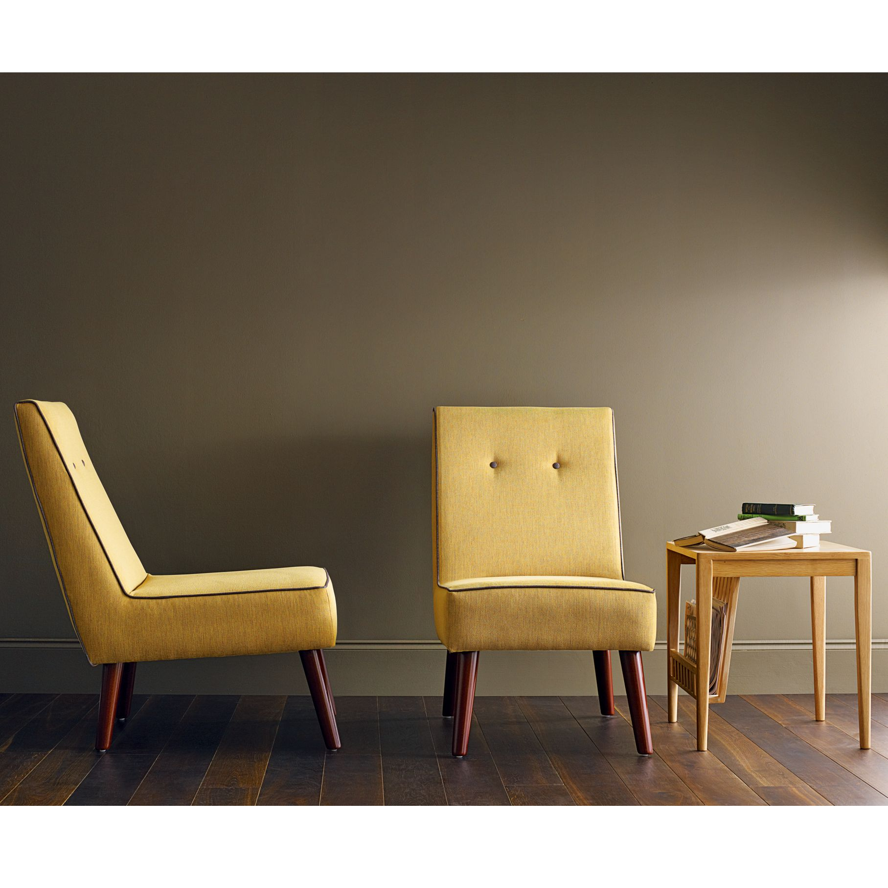 G Plan Vintage The Sixty Chair, Tonic Mustard/ Oil