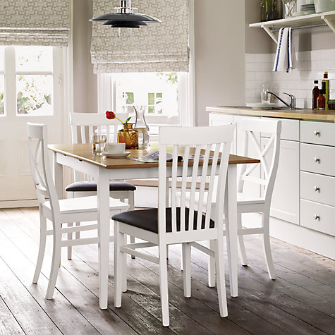 Buy John Lewis Lacock 4 Seater Square Extending Dining Table Online at johnlewis.com