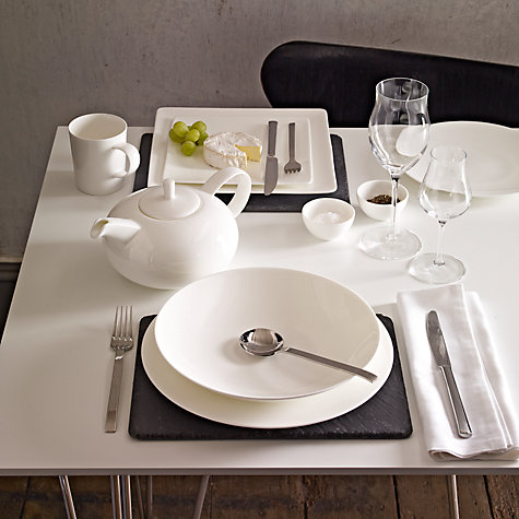 Buy John Lewis Concave Bone China Tableware Online at johnlewis.com