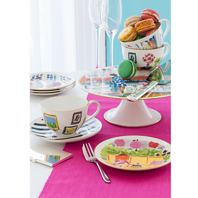 kate spade new york Illustrated Top Shelf Cake Stand