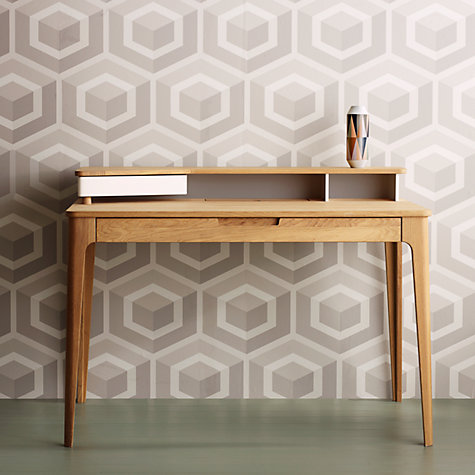 Buy Cole & Son Geometric Hexagon Wallpaper, Cream, 93/1001 Online at johnlewis.com