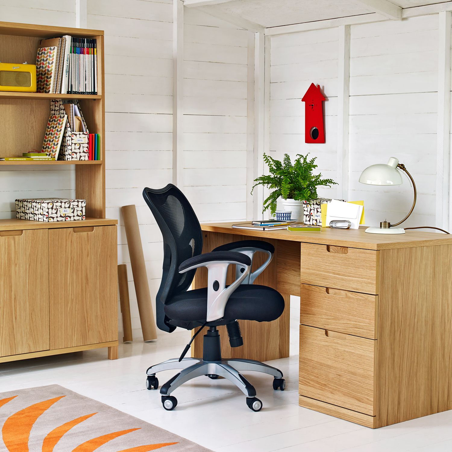 Wooden Desks For Home Study Classic And Modern L Shaped Oak Desk