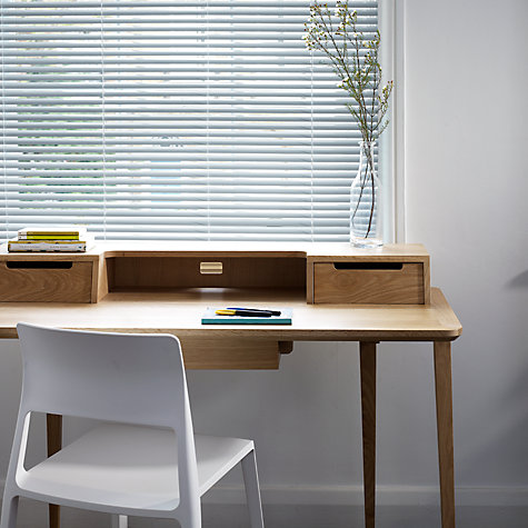 Buy John Lewis Metal Venetian Blinds, 25mm Online at johnlewis.com