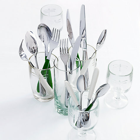 Buy John Lewis Ceramic Ivory Table Fork Online at johnlewis.com