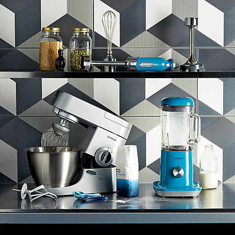 Buy Kenwood KMC570 Chef Premier Stand Mixer, Silver Online at johnlewis.com