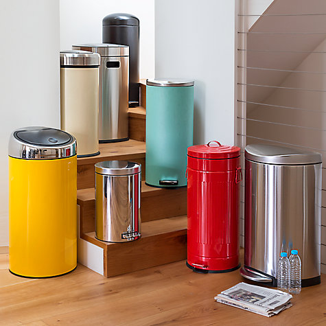 Buy Brabantia Retro Pedal Bin, 30L Online at johnlewis.com
