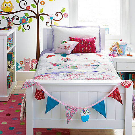 Buy little home at John Lewis Around The Maypole Cushion, Pink Multi Online at johnlewis.com