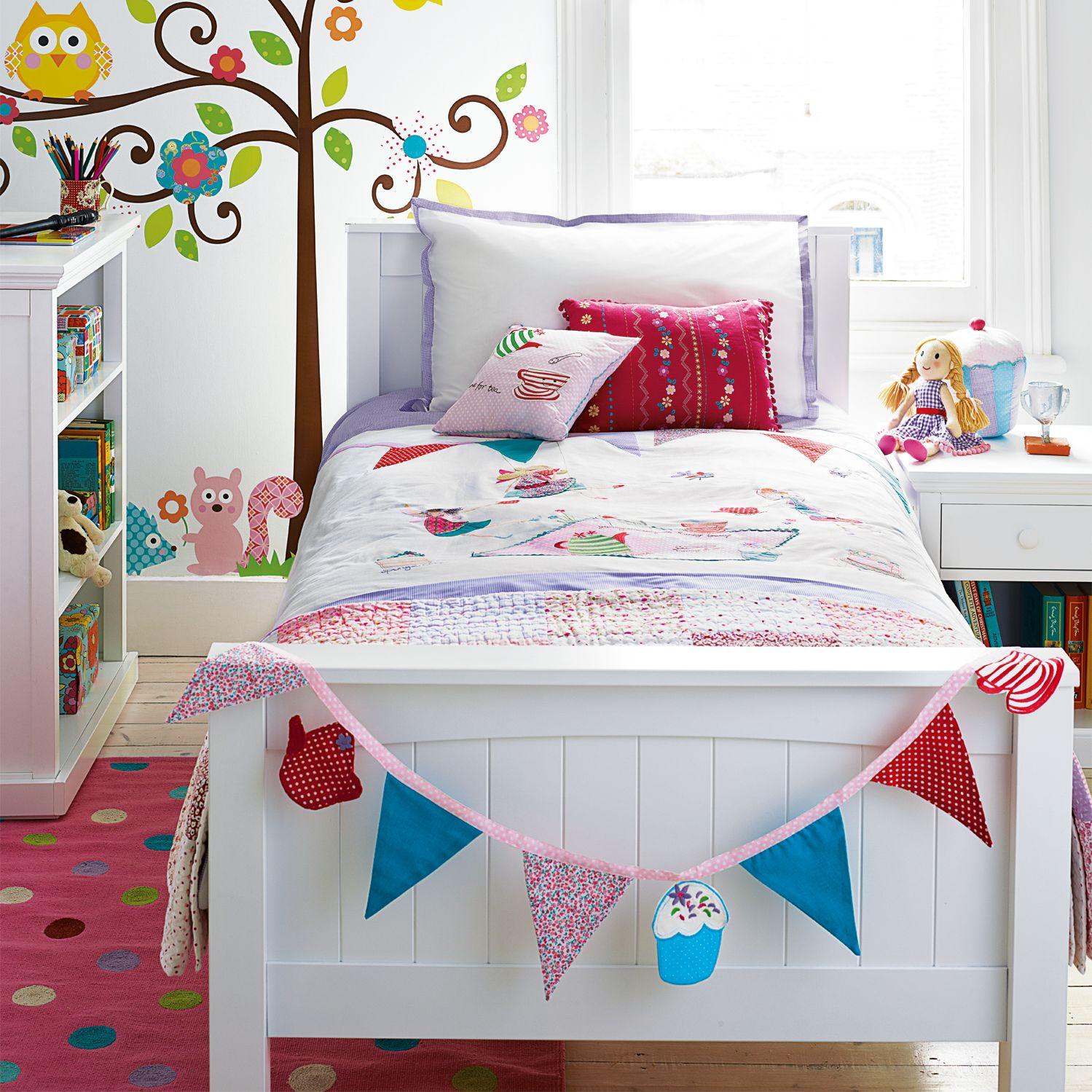 Little Home At John Lewis Fairy Tea Party Children S Duvet Cover And Pillowcase Set