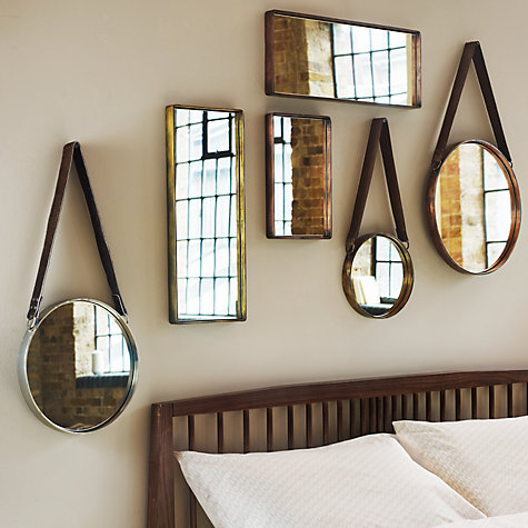John Lewis - copper mirrors