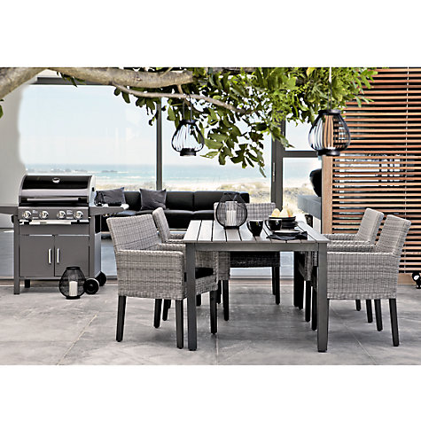 Buy KETTLER Bretagne 6-Seater Rectangular Outdoor Dining Table Online at johnlewis.com