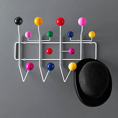 Buy Vitra Eames 'Hang it All' Wall Rack Online at johnlewis.com