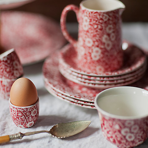 Buy Burleigh Calico Red Tableware Online at johnlewis.com
