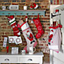 Buy John Lewis Snowflake Knitted Christmas Stocking Online at johnlewis.com