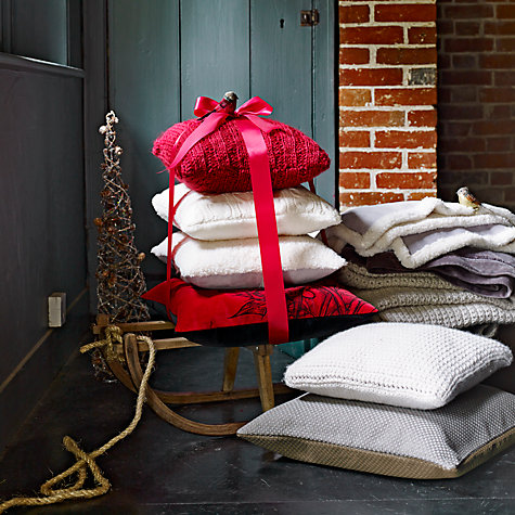 Buy John Lewis Luxury Plush Throw Online at johnlewis.com
