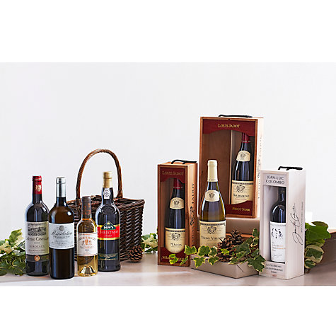 Buy John Lewis Wine Basket Hamper Online at johnlewis.com