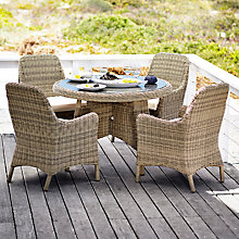 Buy John Lewis Rio 4 Seater Outdoor Dining Set Online at johnlewis.com