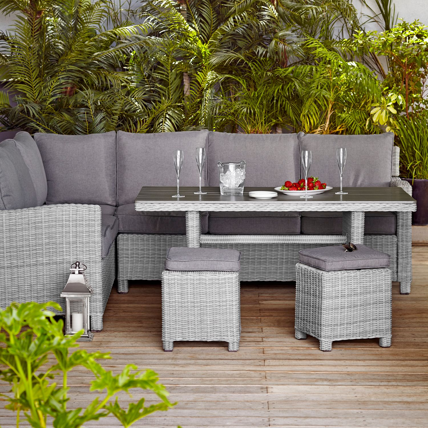 john lewis palma by kettler 8 seater outdoor lounge set. Black Bedroom Furniture Sets. Home Design Ideas