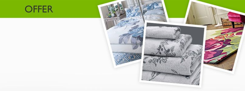 20% off  Selected brands in Bed, Bath and Rugs