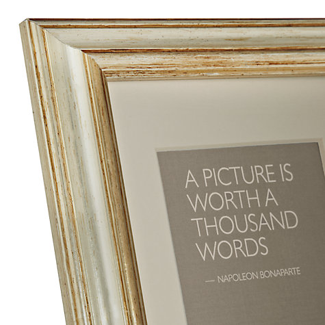 Buy Amelia Photo Frames, Champagne Online at johnlewis.com