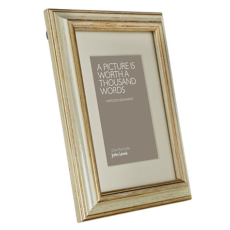 Buy Amelia Photo Frame, Silver Online at johnlewis.com