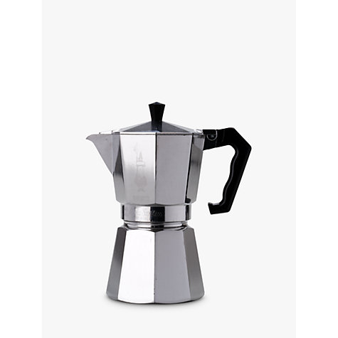 Buy Bialetti Moka Express Hob Espresso Maker, 6 Cup Online at johnlewis.com