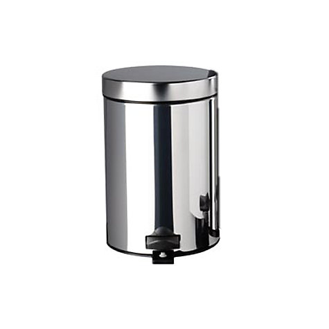 Buy Brabantia Pedal Bin, Brilliant Steel, 3L Online at johnlewis.com