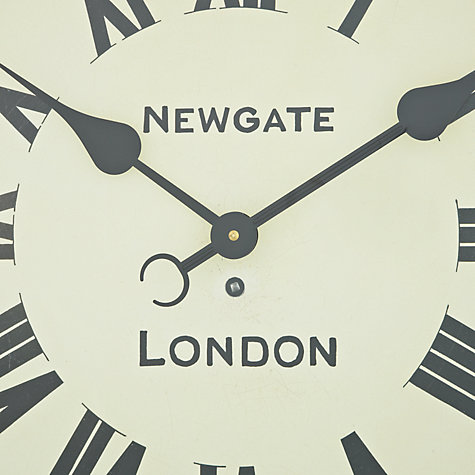 Buy Newgate The Street Wall Clock, Dia.50cm Online at johnlewis.com