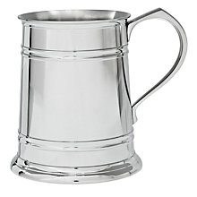 Buy Royal Selangor Straight Tankard, Pewter Online at johnlewis.com