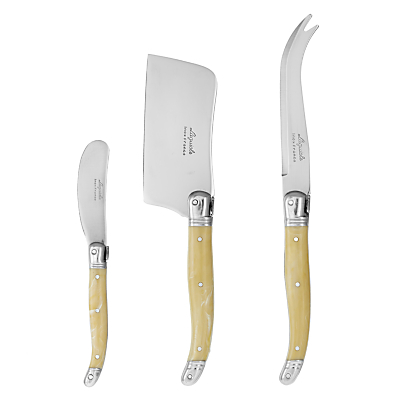 Laguiole by Jean Dubost Cheese Knife Set, 3 Piece