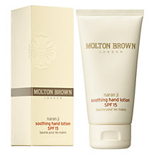 Buy Molton Brown Naran Ji Soothing Hand Lotion, SPF 15, 75ml Online at johnlewis.com