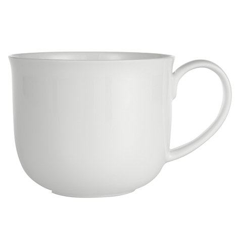 Buy Queensberry Hunt for John Lewis White Mugs, Set of 4 Online at johnlewis.com