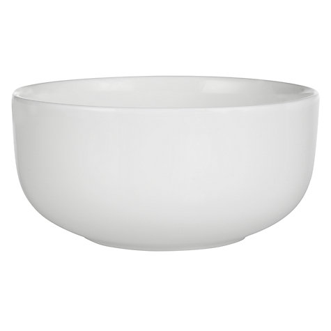 Buy Queensberry Hunt for John Lewis White Cereal Bowls, Dia.15.5cm, Set of 4 Online at johnlewis.com