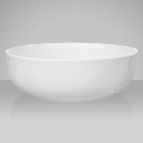 Buy Queensberry Hunt for John Lewis White Serving Bowl, 22.5cm Online at johnlewis.com
