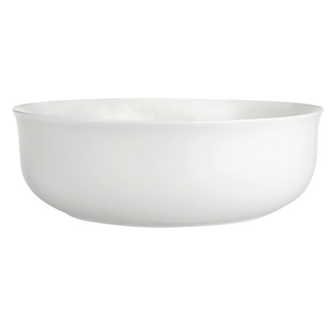 Buy Queensberry Hunt for John Lewis White Serving Bowl, 27cm Online at johnlewis.com