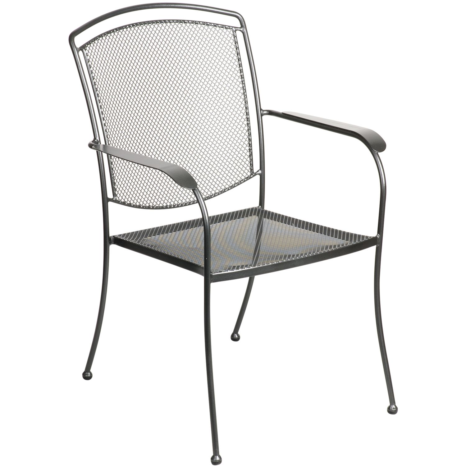 John Lewis Henley by KETTLER Dining Armchair, Grey
