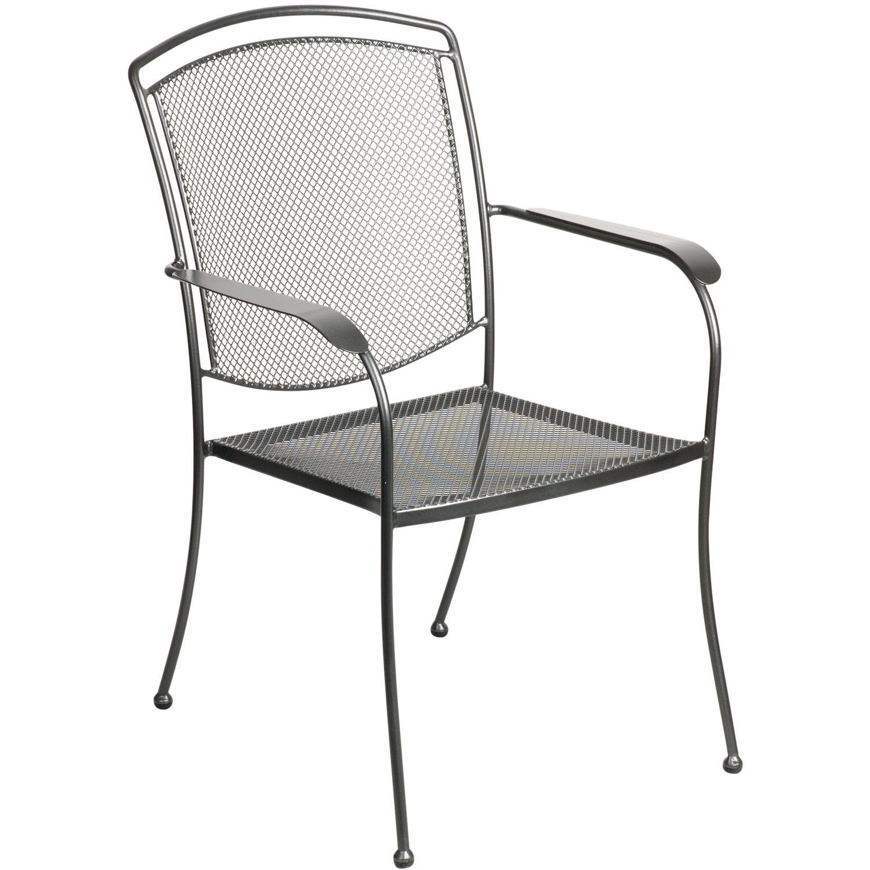 John Lewis Henley by Kettler Dining Armchair, Grey