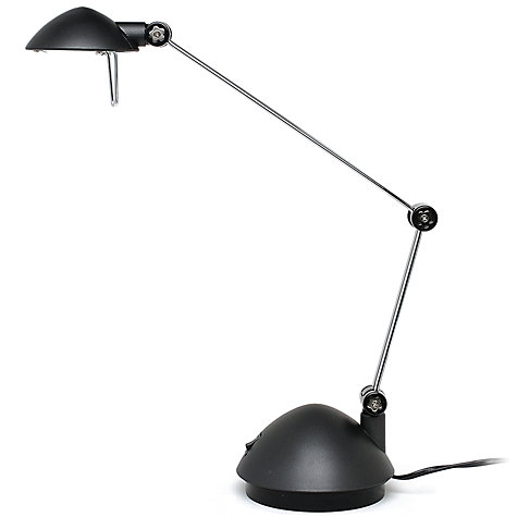 Buy John Lewis Pico Desk Lamp, Graphite Online at johnlewis.com