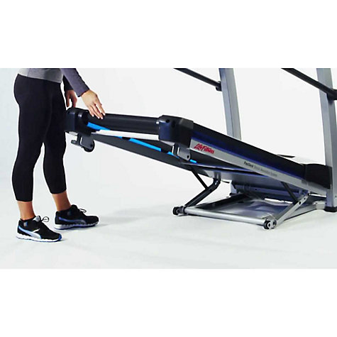 Buy Life Fitness F1 Smart Folding Treadmill Online at johnlewis.com