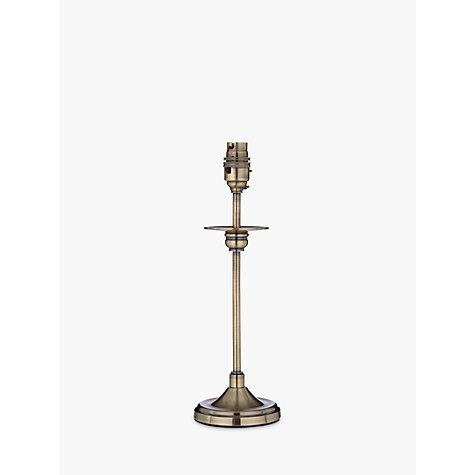 Buy Aston Antique Brass Finish Lampbase Online at johnlewis.com