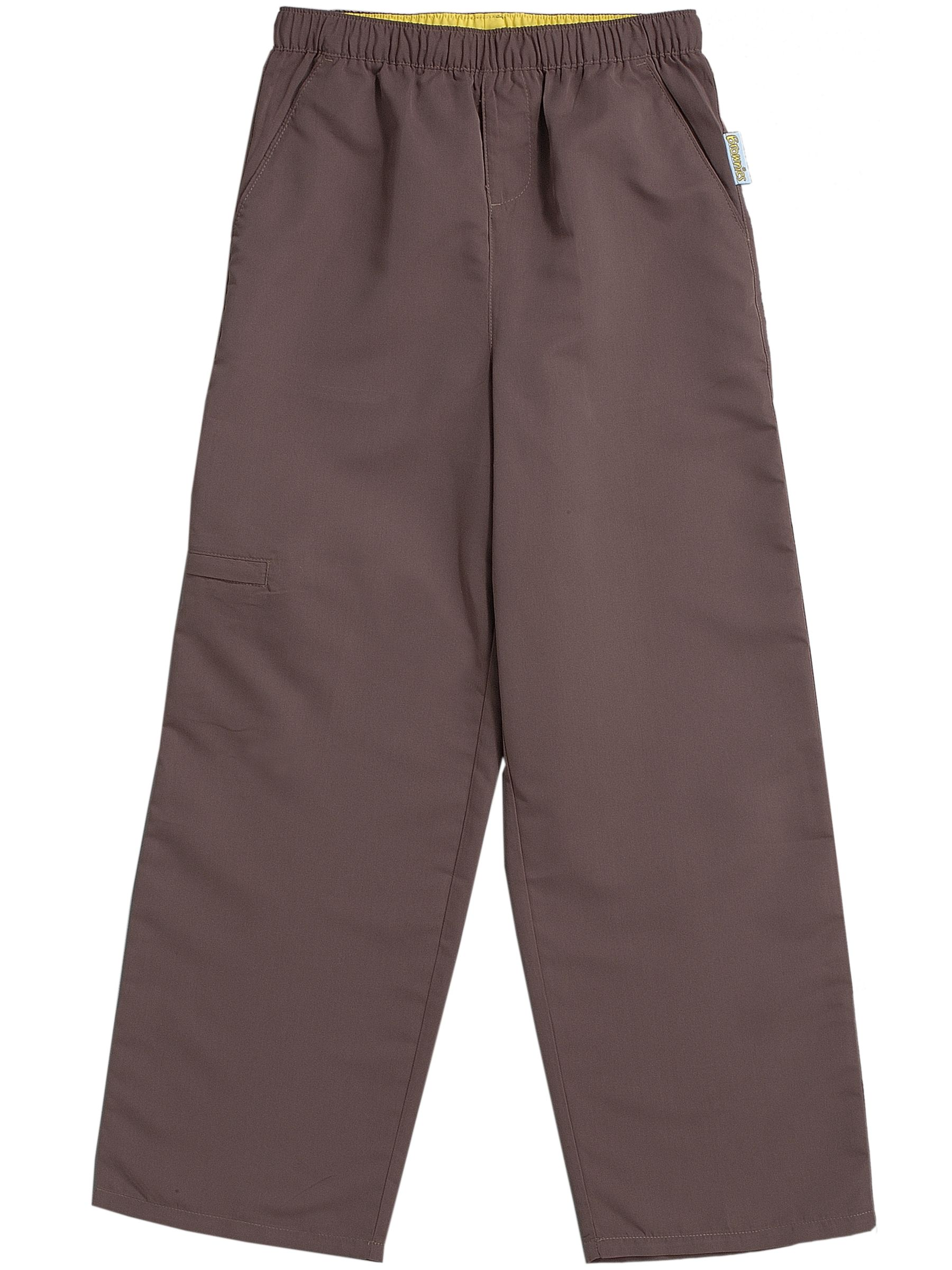 Brownies Brownies Uniform Trousers, Brown
